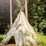 tee pee on site